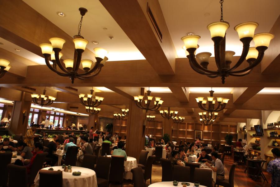 """丹桂轩香榭里店_这样的餐厅,怕是会让人吃到""""膨胀""""! - 最新案例 - 深圳市极 ..."""