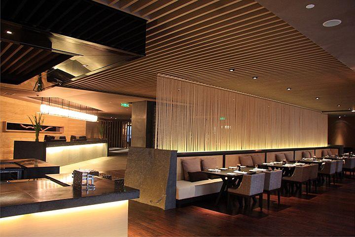 西餐廳燈光裝修效果圖